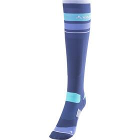 VAUDE Bike Socks Long sailor blue/white